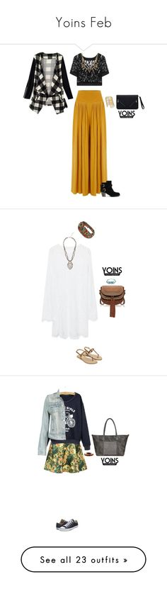 """""""Yoins Feb"""" by blueeyed-dreamer ❤ liked on Polyvore featuring yoins, Converse, Paige Denim, Salvatore Ferragamo, beauty, Too Faced Cosmetics, Givenchy, NARS Cosmetics, tarte and Japonesque"""