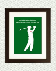 Personalized FATHER'S DAY GIFT - Golf Gift Dad or Grandfather.. $22.00, via Etsy.