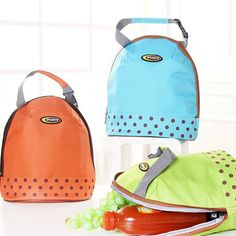 Thicked Keep Fresh Ice Bag Lunch Tote Bag Thermal Food Picnic Bags Travel Bags