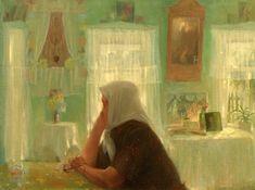 Женщины на склоне лет в творчестве современных художников - Ярмарка Мастеров - ручная работа, handmade