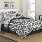 Found it at Wayfair - Marcheline Damask 6 Piece Bed in a Bag Set