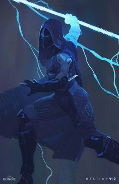 Anyone excited for the new Destiny 2 DLC? Destiny 2 Arc Character Illustrations By Ryan DeMita Destiny Hunter, Destiny Game, Sci Fi Characters, Video Game Characters, Fantasy Warrior, Sci Fi Fantasy, Character Concept, Character Art, Arte Ninja