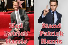 There have been a lot of internet trends and memes and puns are always popular. Here are 55 more funny and hilarious celebrity name puns you're gonna love! Celebrity Name Puns, Punny Puns, Best Puns, Neil Patrick Harris, Funny Names, Seriously Funny, Man Humor, The Funny, Funny Pictures