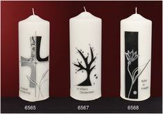 Trauerkerzen - Design- und Kirchenkerzen seit 1792 Easter Cross, Pillar Candles, Day, How To Make, Design, Image, Candle Making, Decorated Candles, Candle Decorations