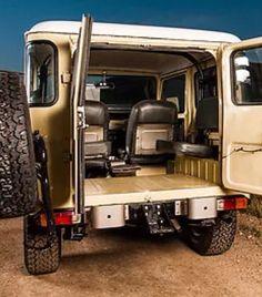 Toyota Fj Cruiser, Toyota Trucks, Toyota Cars, Toyota 4runner, Vintage Jeep, Nissan Patrol, Truck Interior, Jeep 4x4, Sweet Cars