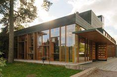 Laajasalo church - JÄRVINEN NIEMINEN, 2003 Contemporary Architecture, Interior Architecture, Ark, Commercial, Design Inspiration, Interiors, Island, Mansions, House Styles