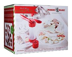 Nordic Ware Holiday Cookie Kit Package Style May Vary -- Click image for more details.