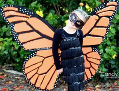 DIY Monarch Butterfly Costume DIY Halloween
