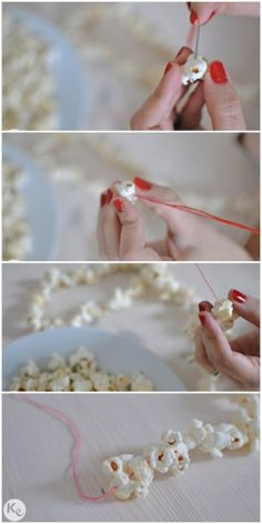 Ya, because I am sure there is still someone out there who doesn't get how to make popcorn garland...lol seriously?