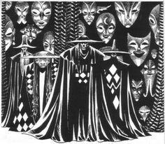 Enrique Alcatena - the Hall of Masks