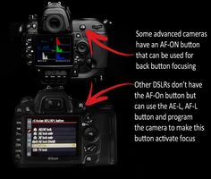 For my photography friends: Back Button Focusing - Easier than you think! Photography Lessons, Photography Camera, Photoshop Photography, Photography Business, Photography Tutorials, Love Photography, Digital Photography, Improve Photography, Photography Backdrops