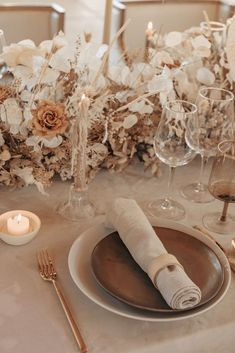 Neutral Wedding Colors, Beige Wedding, Wedding Color Schemes, Floral Wedding, Neutral Tones, Wedding Scene, Wedding Set Up, Chic Wedding, Wedding Ideas