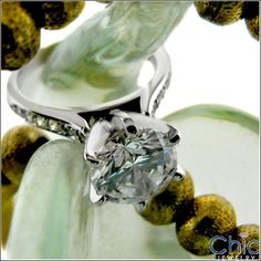 Cathedral 2 Carat Round Highest Quality Center And Pave Side Stones in White Gold Cubic Zirconia Engagement Rings, Diamond Engagement Rings, 2 Carat, Engagement Ring Settings, Natural Diamonds, Cathedral, Stones, White Gold, Rocks