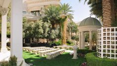 Caesars Venus Garden for Vegas Weddings