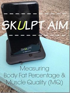 Measure your body fat percentage and muscle quality (MQ) with the @Skulpt_Aim device.  No more pinching, dunking, or embarrassment at the gym.  Check out how this running mama is using the device to help her gain strength and lessen her body fat percentage.