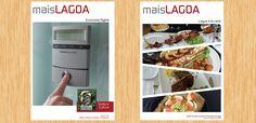 A DDDD Produções criou para o Nelag - Núcleo de Empresários da Lagoa, um boletim informativo em formato de revista