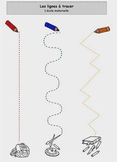 Tracing Worksheets, Preschool Worksheets, Diy For Kids, Crafts For Kids, Only Child, Fine Motor Skills, Kids Education, Pre School, Toddler Activities