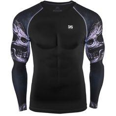 8879f1c2f Compression Baselayer Longsleeve T-Shirt Sports Wear Compression T Shirt