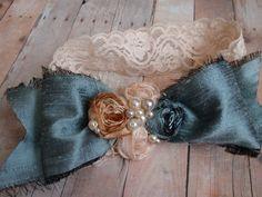 Diadema cutre cutre arco y diadema rosetas bebé por AldonasBoutique
