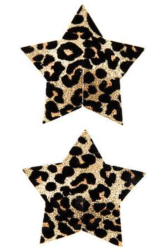 The Leopard Star Pasties by *Intimates Boutique