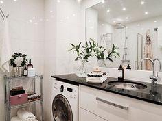 Novos cantos para a máquina de lavar, aparente ou escondida!