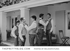 Lots of beautiful wedding party photos I'd like to replicate through this link