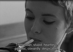 Jean-Luc Godard, 1960's Breathless (À bout de souffle) French Film