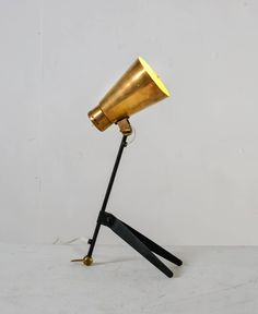 tapio wirkkala brass and metal table or wall lamp for itsu finland 1950s 3 brass and metal furniture