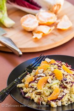 Mandarin, Treviso and Fennel Couscous Salad Recipe