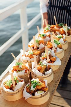Emma + Lockey - Real Wedding at The Boathouse Palm Beach - Photography by The Story of Us Appetizers For Party, Appetizer Recipes, Cooking Recipes, Healthy Recipes, Le Diner, Food Platters, Cafe Food, Appetisers, Food Packaging