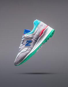 New Balance 997CDG 'Coumarin' Pack (Grey/Deep Ozone Blue) - EU Kicks: Sneaker Magazine