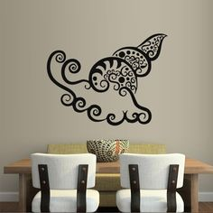 Wall Decal Art Decor Decals Sticker Shell Sea Ocean Inhabitant Kitchen (M268) DecorWallDecals http://www.amazon.com/dp/B00FWKJLPI/ref=cm_sw_r_pi_dp_LnmYub1T6EXWR