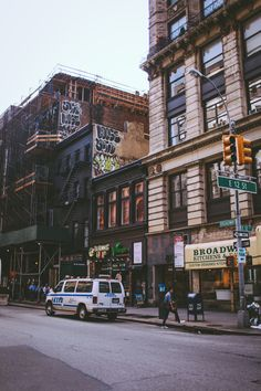 Broadway and 12th St, New York City