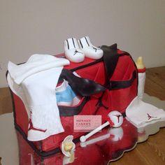 Air Jordan Diaper Bag Cake