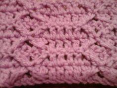 Puntada a crochet,  rápida y divertida. Muestra No. 20