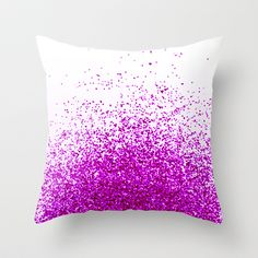 magenta Throw Pillow by Marianna Tankelevich - $20.00