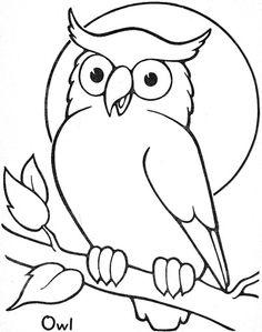 Owl Template Download  MadarakBirds    Owl Template