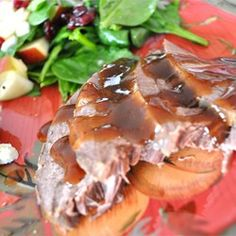 Slow Cooker Apple-Scented Venison Roast - Allrecipes.com
