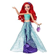 Shop for Disney Princess Style Series, Ariel Doll in Contemporary Style with Purse and Shoes. Get free delivery On EVERYTHING* Overstock - Your Online Toys & Hobbies Store! Mulan Doll, Ariel Doll, Disney Princess Dolls, Disney Dolls, Disney Princess Fashion, Sailor Princess, Disney Princess Dresses, Mermaid Dolls, Disney Disney