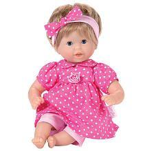 hadley LOVES her corolle dolls!