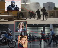 Civil War trailer breakdown dang I missed crossbones but I did see the others