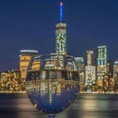 I'm in a New York state of mind! mricenelson@cruiseplanners.com  www.cruiseplannersworldtour.com/pages/contact  Let's raise our glasses and reflect on what we love about NYC. (Photo: nyclovesnyc/Instagram)