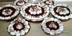 Creative Ideas and Recipes! Greek Sweets, Greek Desserts, Greek Recipes, Candy Recipes, Frozen Yogurt, Sorbet, Tiramisu, Food Processor Recipes, Food And Drink