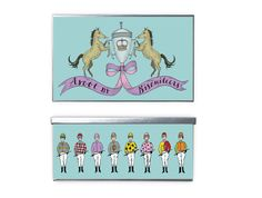All our Ascot biscuits come packed in this beautiful hand illustrated Ascot tin!