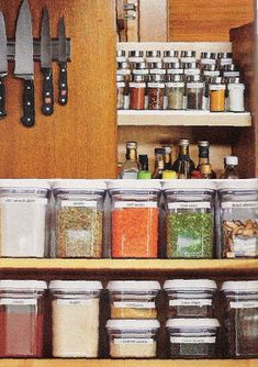 Organization ideas: