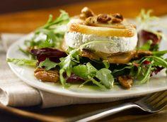 Roasted Pear & Canadian Cheese Torta Salad