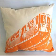 train pillow.