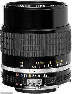 NIKKOR 105mm f/2.5