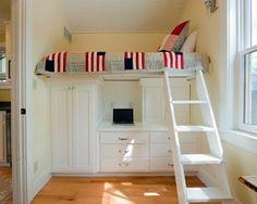 Habitaciones juveniles para espacios pequeños