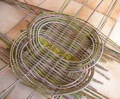 Pour tresser en technique zarzo l'idéal est l'osier, mais on peut utiliser d'autres matériaux si l'on na pas d'osier, ce qui est mon cas. J'ai donc réalisé ce panier avec des tiges de cornouiller sanguin et des branches fines de saule pleureur pour les...